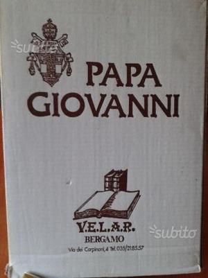Libro su papa Giovanni