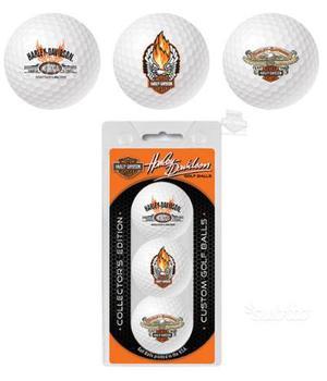Palle palline golf personalizzate harley davidson