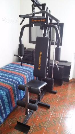 Panca multifunzione Carnielli Gymstar 900
