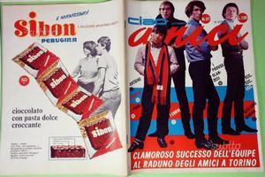 Riviste musicali anni '60 CIAO AMICI