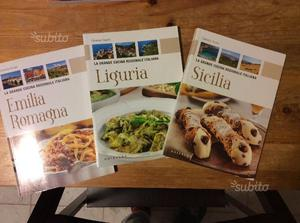 Tre libri su tre regioni italiane