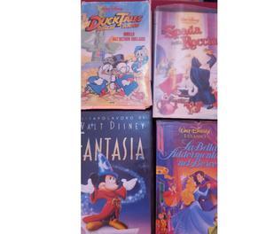 VENDO 30 VHS ORIGINALI DISNEY ANIMAZIONE