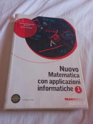 Vendita libro matematica