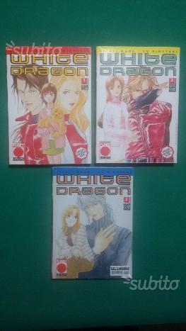 White Dragon n.1-3 completa Planet Manga