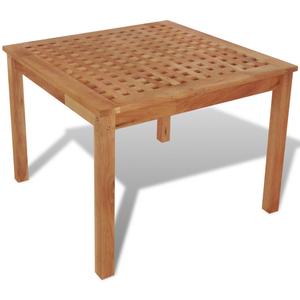 vidaXL Tavolinetto da Salotto Legno Massello di Noce