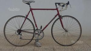 Bici corsa acciaio eroica columbus leggere la misu