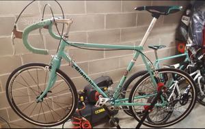 """Bici da Corsa Bianchi ragazzo/a Junior ruote 22"""""""