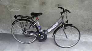 Bici donna bugno in alluminio utilizzata poco
