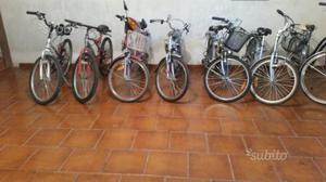 Bici elettriche e normali usate