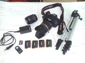 Canon eos 600d + vari accessori + tamron