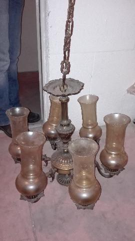 LAMPADARIO con struttura