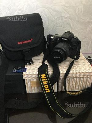 Macchina fotografica Nikon reflex D90