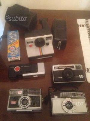 Macchine fotografiche vintage