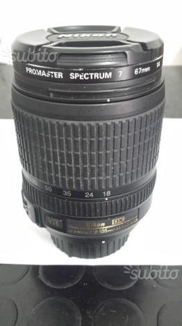 Obbiettivo Nikon  con borsa