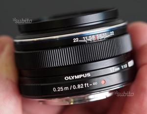 Olympus Zuiko Digital 17mm f/1.8 nuovo