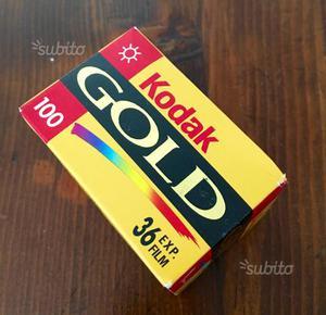 Rullino Kodak gold 100 Nuovo