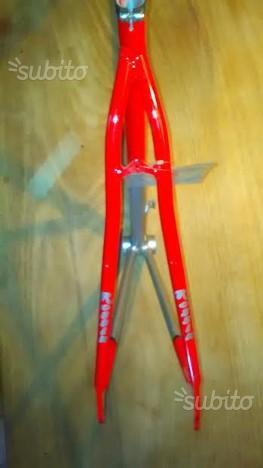 Telaio alluminio bici corsa fixwd single speed