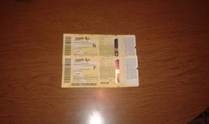 2 Biglietti Moto Gp Mugello  Gara Domenica