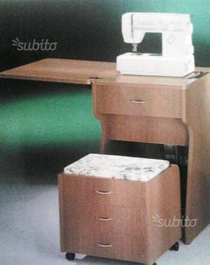 Cerco macchina cucire cuoio a braccio posot class for Mobile per macchina da cucire prezzi