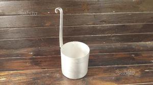 A183 alluminio vecchio misurino latte 1 litro