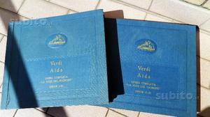 Aida Voce del Padrone dischi grammofono