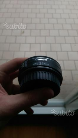 Canon EF-S 24mm f/2.8 STM come nuovo