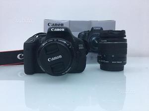 Canon EOS 600d + EF-S mm IS ii