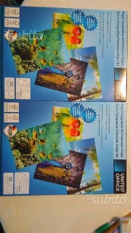 Carta fotografica per stampanti getto d'inchiostro