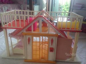 Casa Ufficio Barbie : Casa barbie anni 80 con mobili omaggio posot class