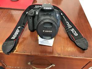Macchina fotografica Canon 700D + 2 obiettivi