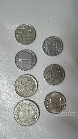 Monete italiane vecchia lira
