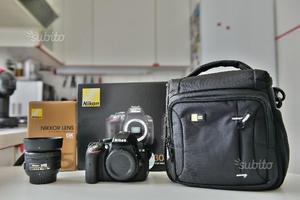 Nikon d+ DX 35mm f/1.8 *SOLO RITIRO ZONA BG