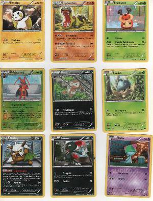 Carte Pokemon Nero e bianco