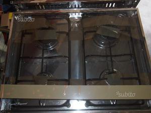 Cucina lofra forno e piano cottura a 4 fornelli posot class - Forno e piano cottura ...