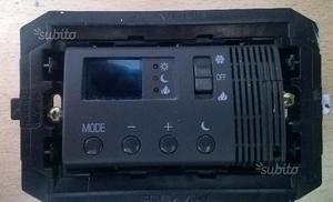 Cromo termostato perry da incasso posot class for Termostato vemer istruzioni