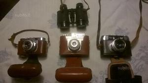 Blocco macchine fotografiche vintage