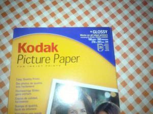 Carta fotografica Kodak Glossy per Inkjet