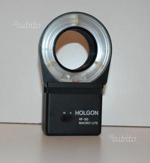Flash Holgon per macrofoto