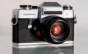 Leica Leicaflex SL e Summicron 50mm f 2