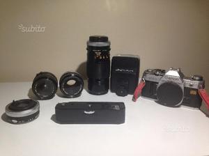 Macchina Canon AT1-obiettivi-accessori