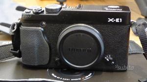 Mirrorless Fuji X-E1+adattatore Leica
