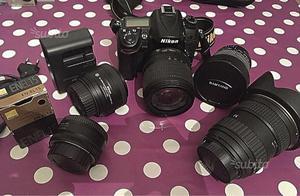 Nikon d +obiettivi