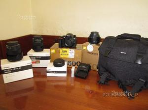 Nikon d +varie ottiche sigma Mai usate