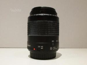 Reflex analogica Canon 500n obiettivo e borsa