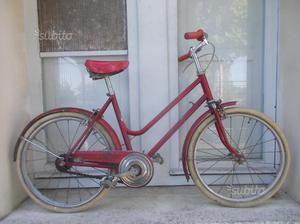 Bicicletta da bambina anni 60