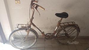 Bicicletta da donna vintage da 24 pieghevole