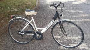 City Bike donna da 28 6 v nera e bianca
