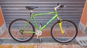 Mountain bike Bianchi n. con ammortizzatori