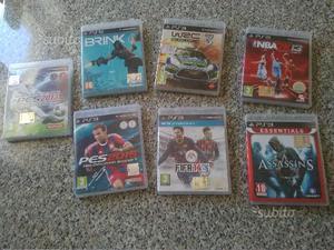 7 giochi originali ps3