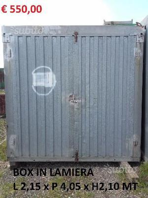 Box lamiera frosinone posot class for Lamiera ondulata zincata prezzi